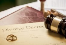 Online divorce application service