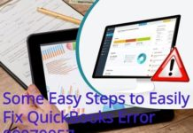 Some Easy Steps to Easily Fix QuickBooks Error