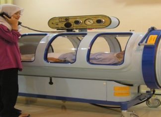 Hyperbaric Oxygen Therapy Counter