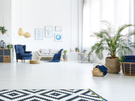 Latest Living Room Flooring Trends